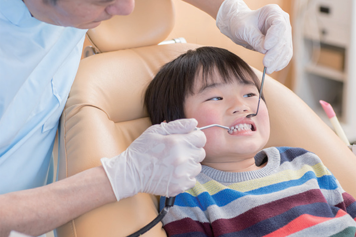 子どもの歯の治療は無料